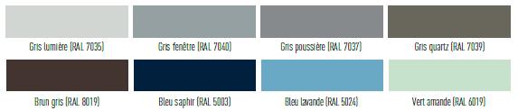 Portail Aluminium Coloris Couleurs Portails Teintes Et
